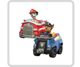 Paw Patrol voertuigen