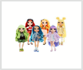 Rainbow High poppen
