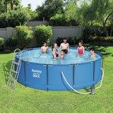 Bestway zwembad steel pro max set rond _
