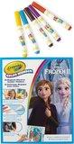 Color Wonder - Frozen 2 - Kleurboek met 5 knoei vrije viltstiften_