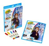 Color Wonder - Frozen 2 - Kleurboek met 5 knoei vrije viltstiften