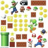 Super Mario Bros muurstickers - RoomMates -  Build a scene
