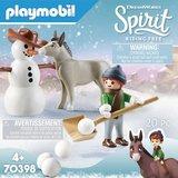 Spirit - Playmobil - Sneeuwpret met Snips & Meneer Carrots - 70398