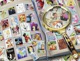 Ravensburger puzzel - Mijn mooiste  Disney postzegels - 1500 stukjes
