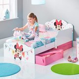 Minnie Mouse - peuterbed met opslagruimte onder het bed