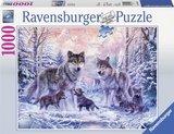 Ravensburger puzzel - Arctische wolven - 1000 stukjes