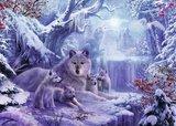 Ravensburger puzzel - Winter wolven - 1000 stukjes