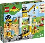 Lego Duplo - Torenkraan & Bouwterrein - 10933
