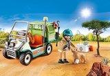 Playmobil Family Fun - Dierenverzorger met voertuig - 70346
