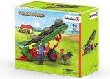 Schleich Farm world - Hooitransportband met boer - 42377