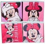 Minnie Mouse  opbergkubus - set van 4 st
