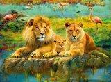 Ravensburger puzzel - Leeuwen in de Savanne  - 500 stukjes