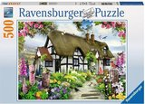 Ravensburger puzzel - Idyllische cottage  - 500 stukjes