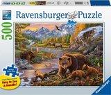 Ravensburger puzzel - Wildernis  - 500 stukjes