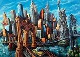 Ravensburger  puzzel - Welkom in  New York - 1000 stukjes