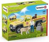 Schleich Farm world - Dierenartsbezoek op de boerderij -  42503