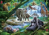 Ravensburger puzzel -  Jungle dieren - 100 stukjes XXL