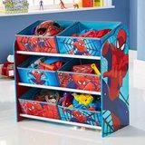 Spiderman - Speelgoed opbergkast met 6 bakken
