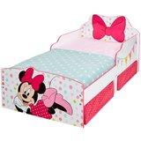 Minnie Mouse - peuterbed met opslagruimte onder het bed - Strik