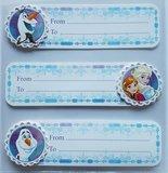 frozen 3d stickers