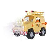 Ga op reddingsactie met Brandweerman Sam met Tom's 4x4 Offroad Voertuig. Het voertuig is door zijn veringen bestand tege