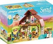Spirit - Playmobil - Schuur met Lucky, Pru en Abigail