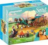 Spirit - Playmobil - Lucky's vader en wagen
