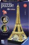 Eiffeltoren 3D puzzel - night edition - 216 stukjes