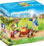Playmobil City Life - Oma met rollator - 70194