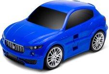 Kindertrolley koffer - Maserati Levante- Blauw