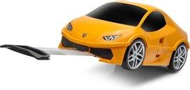 Kindertrolley koffer - Lamborghini Huracan - Oranje