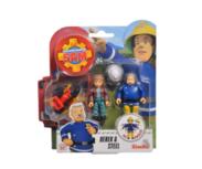 Brandweerman Sam speelfiguren - Derek & Steele