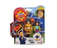 Brandweerman Sam speelfiguren - Elvis & Mandy