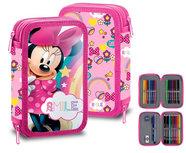 Minnie Mouse - dubbel gevulde etui