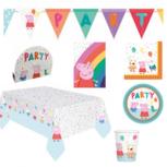 Peppa Pig verjaardags/ feest pakket, 8 personen