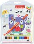 Bruynzeel viltstiften - 12 stuks