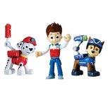 PAW Patrol - Actie Figuren - Marshall, Ryder en Spy Chase