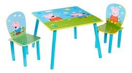 Peppa Pig Tafel met stoeltjes voor kinderen