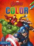 Kleurblok Avengers met uitscheurbare kleurplaten