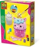 SES Gieten en schilderen - Cupcake kat