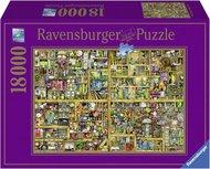 Ravensburger puzzel - Colin Thompson Magical bookcase - 18000 stukjes