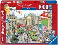 Fleroux - puzzel - Londen - cities of the world - 1000 stukjes