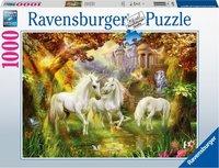 Ravensburger puzzel - Eenhoorns in de herfst - 1000 stukjes