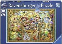 Ravensburger puzzel - Disney familie - 500 stukjes