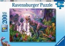 Ravensburger puzzel - Land van de Dinosauriers - 200 stukjes XXL