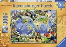 Ravensburger puzzel - World of wildlife - 300 stukjes XXL