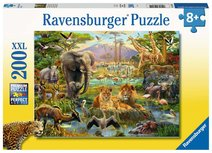 Ravensburger puzzel - Dieren van de Savanne - 200 stukjes XXL