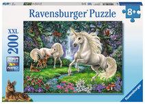 Ravensburger puzzel - Sprookjesachtige Eenhoorns - 200 stukjes XXL