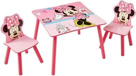 Minnie Mouse   - Table with two chairs for children