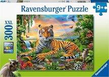 Ravensburger puzzel - Koning van de Jungle - 300 stukjes XXL